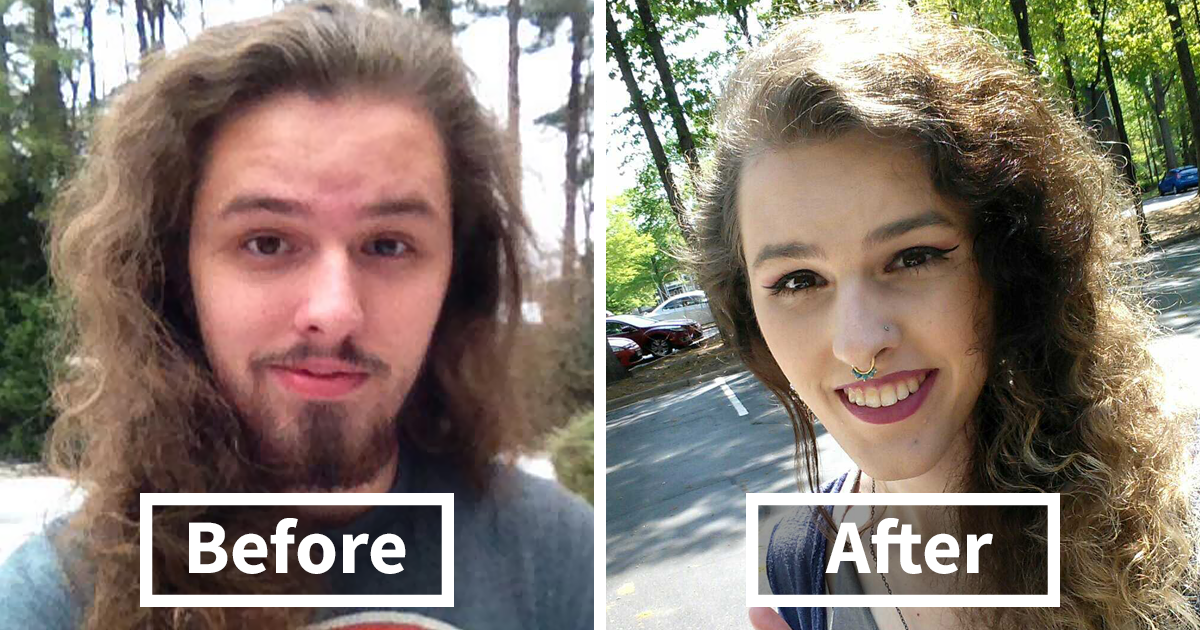 10+ Unbelievable Gender Transitions You Won't Believe Show The Same Person