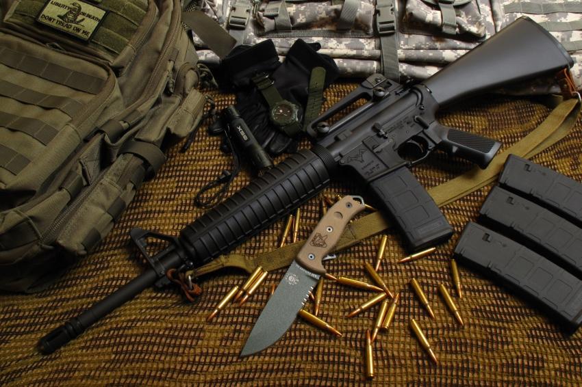 Американская винтовка М16: почему она уступает автомату Калашникова