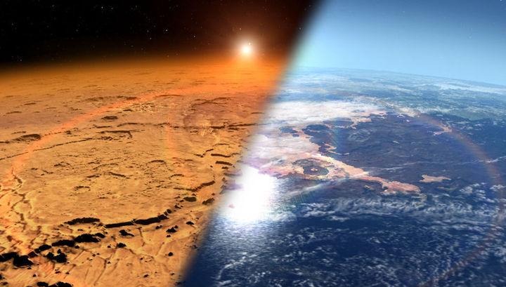 На экваторе Марса, возможно, существуют огромные запасы льда, взявшиеся неизвестно откуда