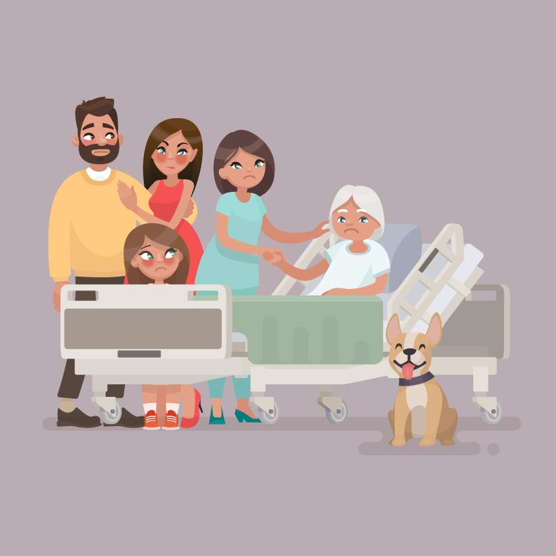 Анекдот об умирающей бабуле и её завещании родственникам