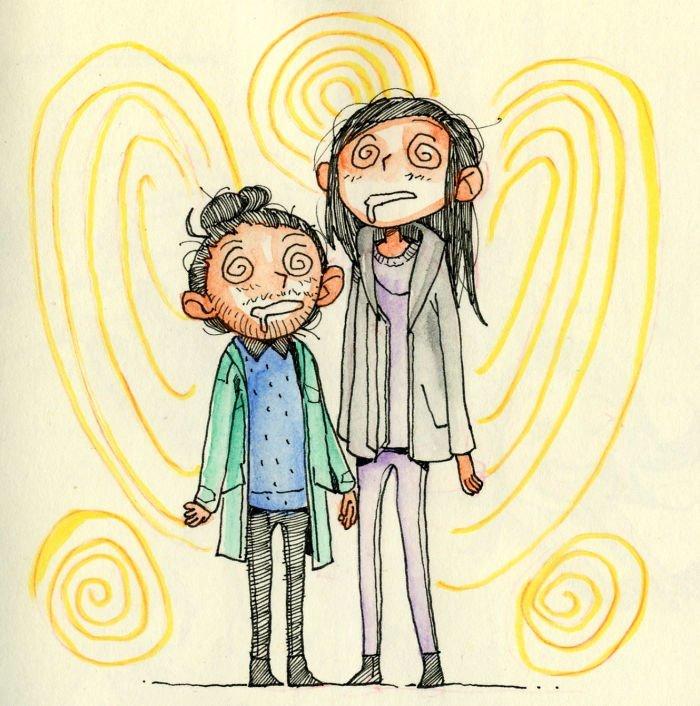 Художественная галерея Онтарио Любовь, история, комикс, любовь на расстоянии, рисунки, романтика, творчество, художник