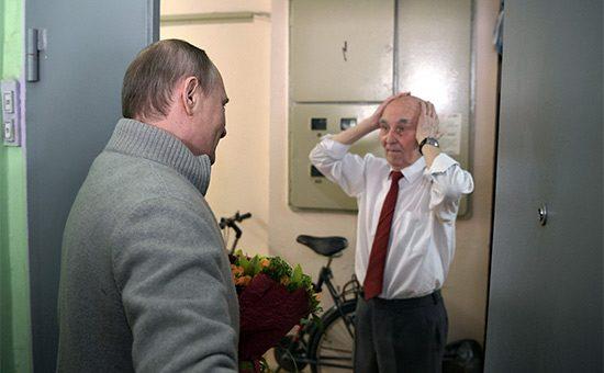 Путин побывал в гостях у сво…