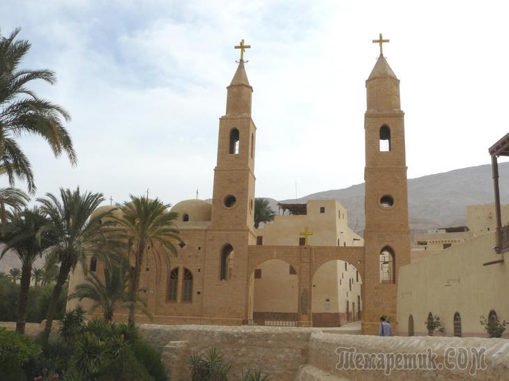 Монастыри и храмы… монастырь святого Антония