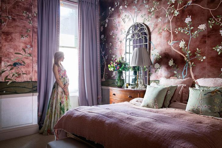 Как в сказке: квартира дочери создателя бренда обоев De Gournay в Лондоне