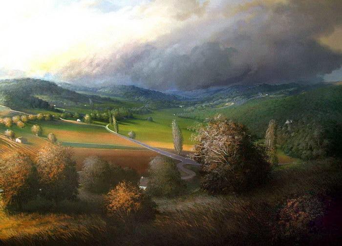 Красивые пейзажи Didier Nolet