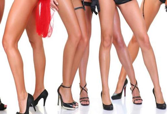 Как сделать колени гладкими и красивыми