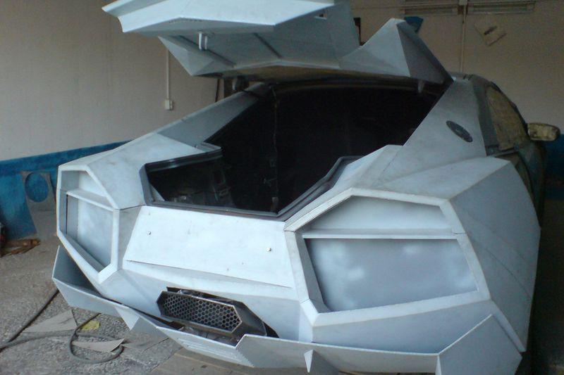 Одесская копия Lamborghini Reventon из Mitsubishi Eclipse