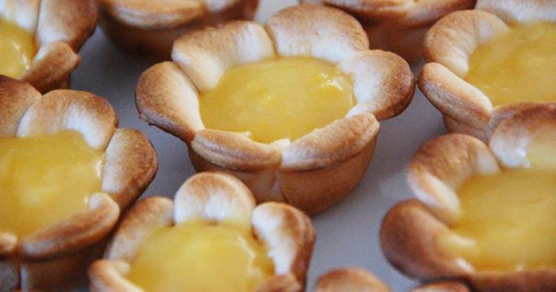 «Лимонные цветочки» — легко повторить, а съедается моментально