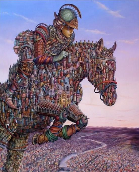 Сюрреалистическое приключение по волшебному причудливому миру Томека Сетовски