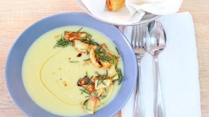 Самый вкусный суп-пюре из сельдерея