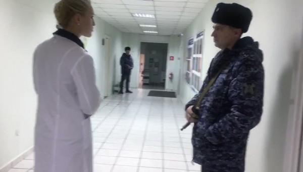 В московскую больницу вызвал…