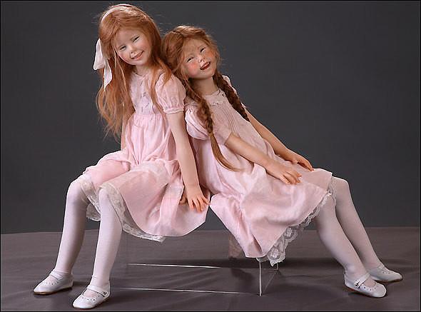 Куклы современных мастеров. Вот это мастерство!