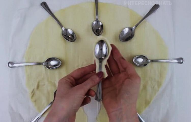 Обалденная закуска на ложках