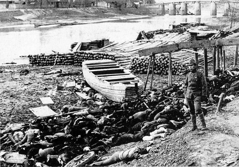  Нанкинская резня– эпизод Второй японо-китайской войны, в ходе которого в Нанкине, столице Китайской Республики, японские военнослужащие совершили массовые убийства и изнасилования гражданского населения / ©Wikipedia