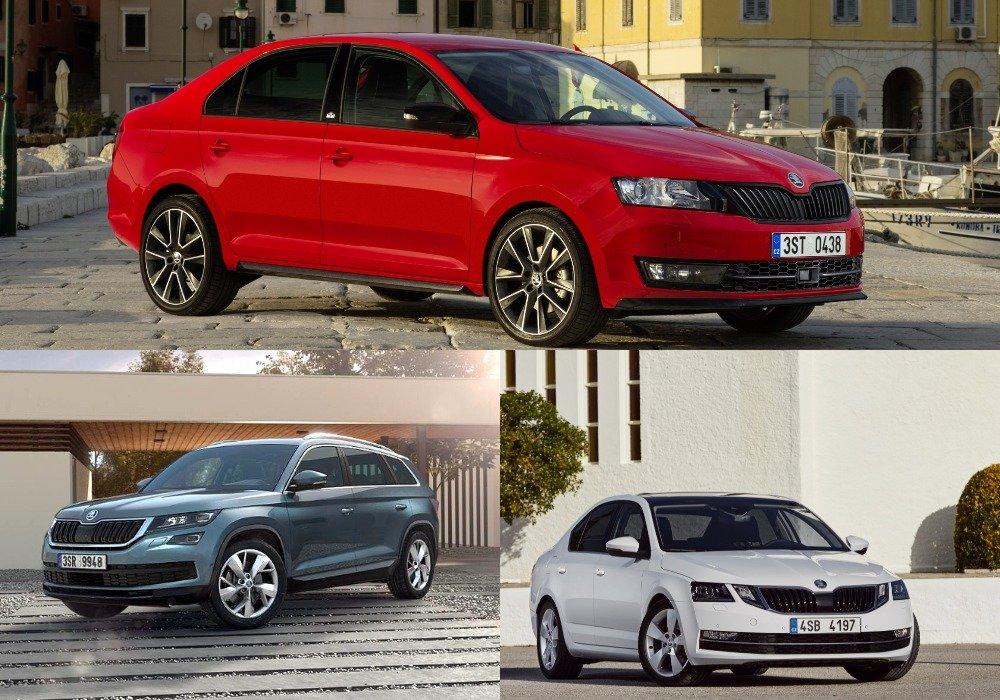 Продажи растут: автомобили Skoda продолжают пользоваться популярностью у россиян