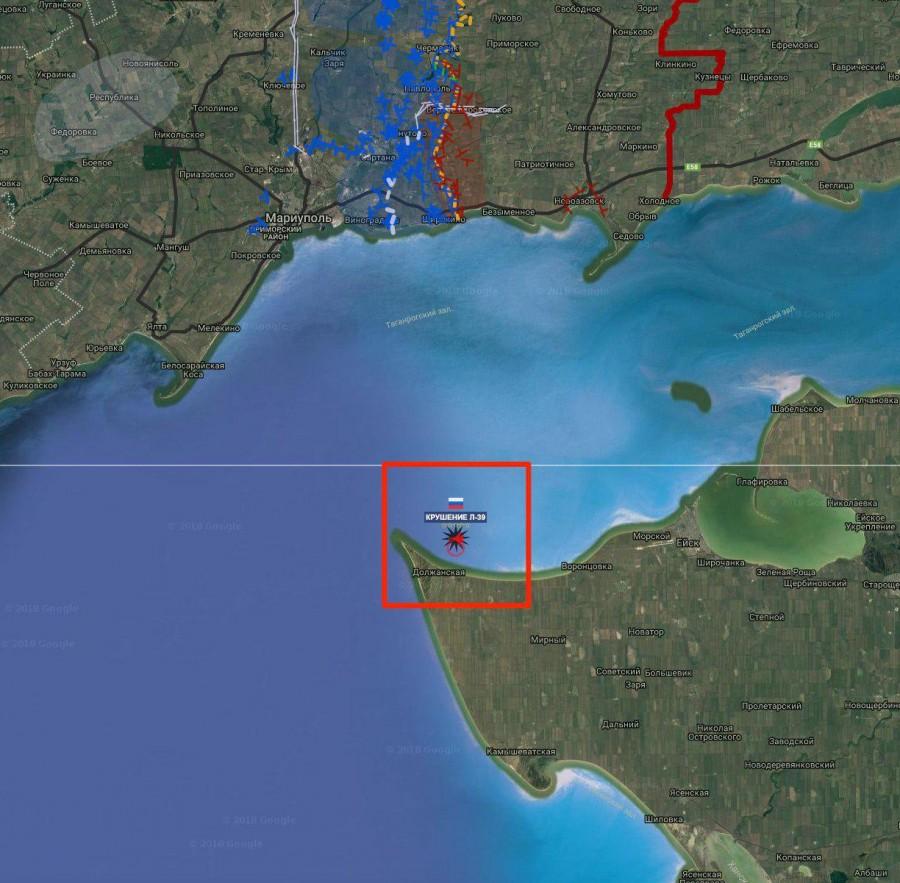 В Краснодарском крае разбился L-39