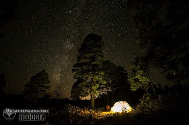 Не ходите в походы в одиночку или странные люди в лесу