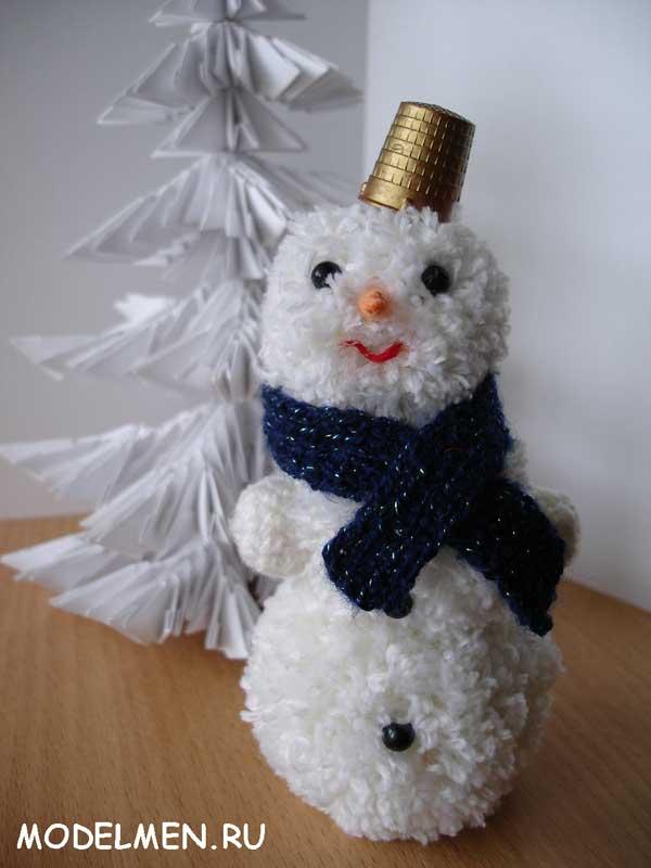 Шапочки снеговиков своими руками фото 688
