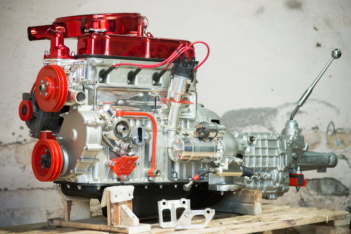 Двигатель для Волги