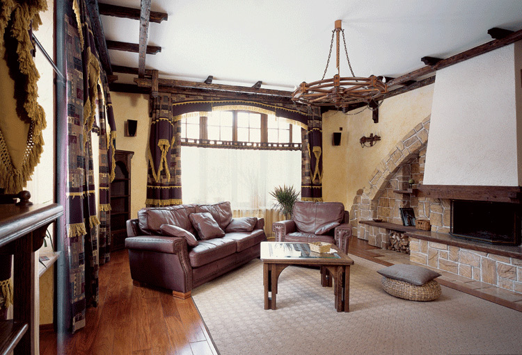 Ремонт квартиры под старину