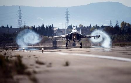Военные США назвали маневр Су-30 ВКСРФ вСирии «непрофессиональным»