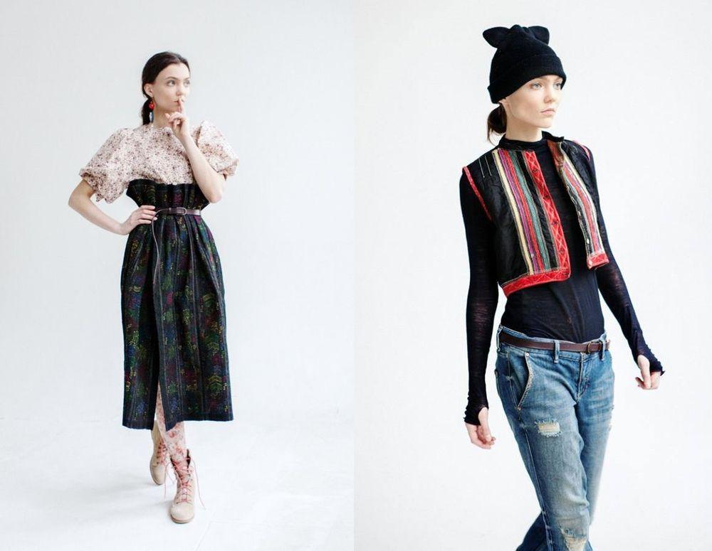 русская мода