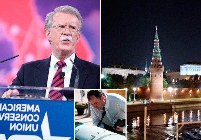 Эксперт связал решение США выйти из договора РСМД с визитом Болтона в Россию