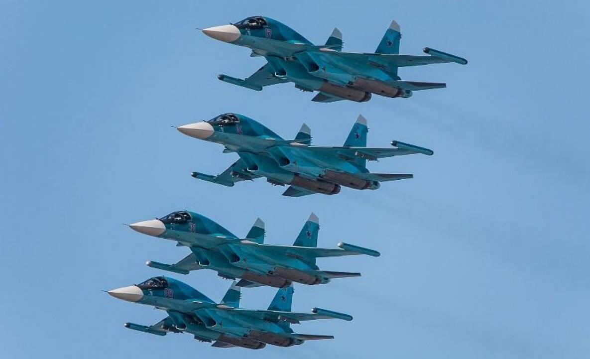 """""""Сухой"""" передал Минобороны РФ первую в этом году партию Су-34"""