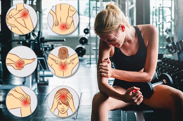 Как справиться с мышечной болью после физических нагрузок