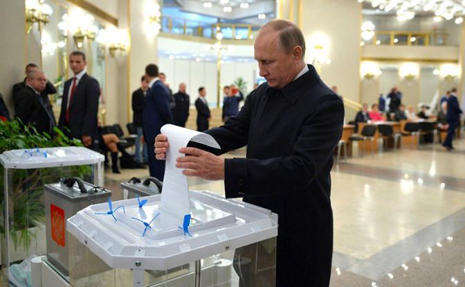 Политолог: альтернативы Путину на президентских выборах нет