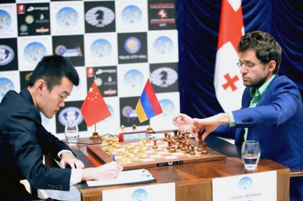 Левон Аронян стал победителем Кубка мира пошахматам