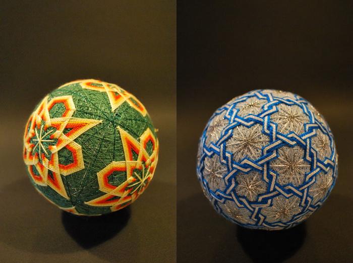Вышитые шары «темари» от 92-летней рукодельницы
