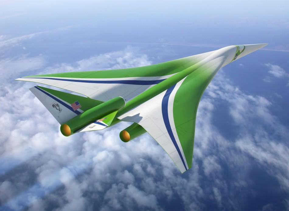 NASA представило концепции будущего, экологически чистый самолет