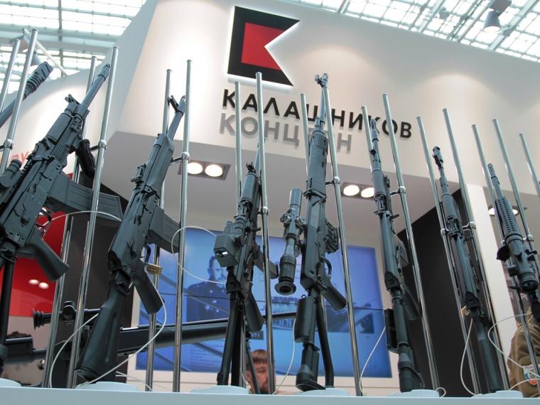 «Калашников» представит новую снайперскую винтовку