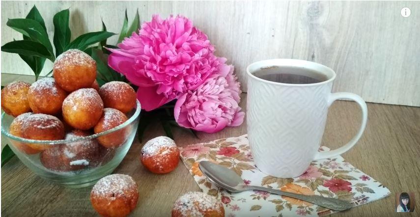 Творожные пончики — съедаются мгновенно