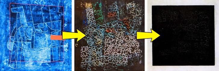9 известных картин, под слоем краски которых скрываются совсем другие изображения (Первоначальная Джоконда восхищает)