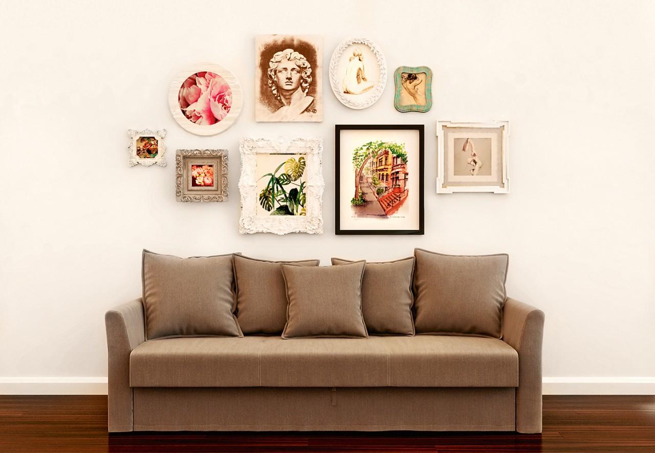 Что повесить на стену: 5 советов дизайнера интерьеров
