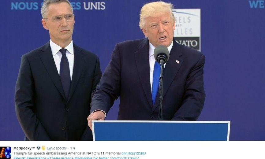 Белый дом раскрыл, зачем Трамп нагло толкнул премьера Черногории в Брюсселе