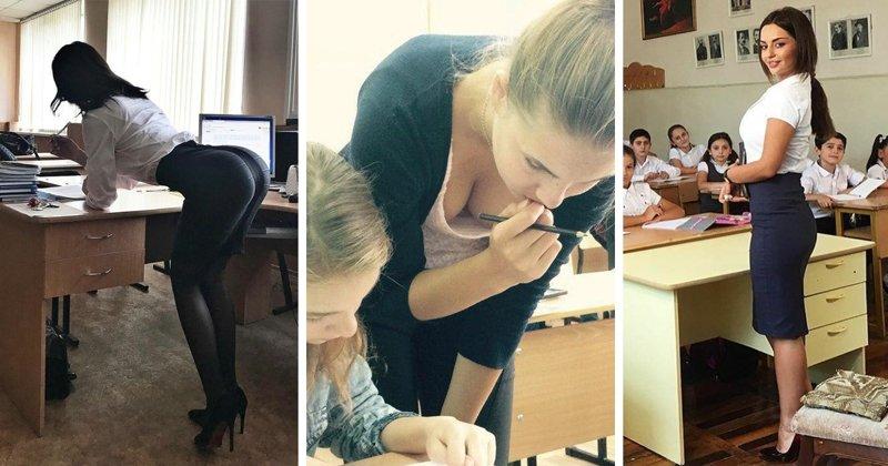 Практикантки из пединститутов, которым мы так радовались в школе (24 фото)