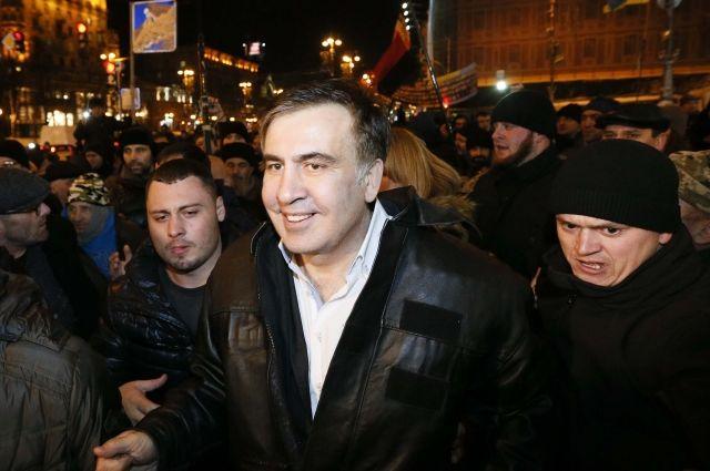 Саакашвили говорит, что не писал Порошенко письмо с предложением мира