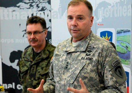 Генерал Ходжес не верит словам Москвы об учениях «Запад-2017»