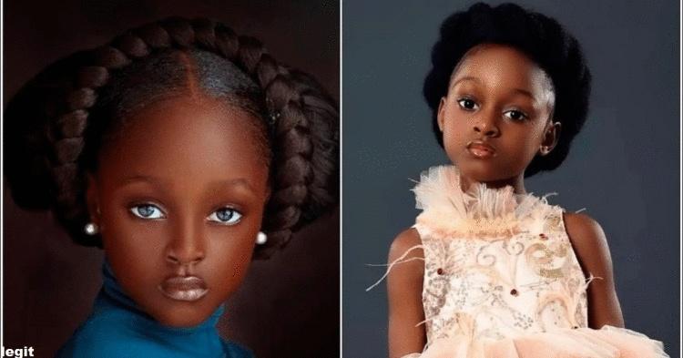 Знакомьтесь: самая красивая девушка в Нигерии, стала моделью и знаменитостью