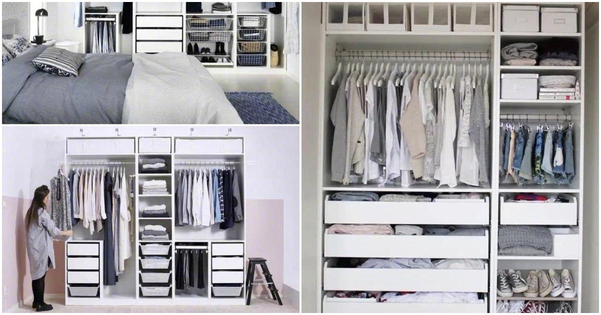 Практичные идеи для организации порядка в шкафу