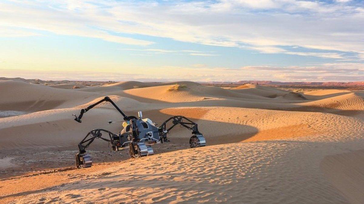 В Сахаре прошли первые испытания марсианских роверов