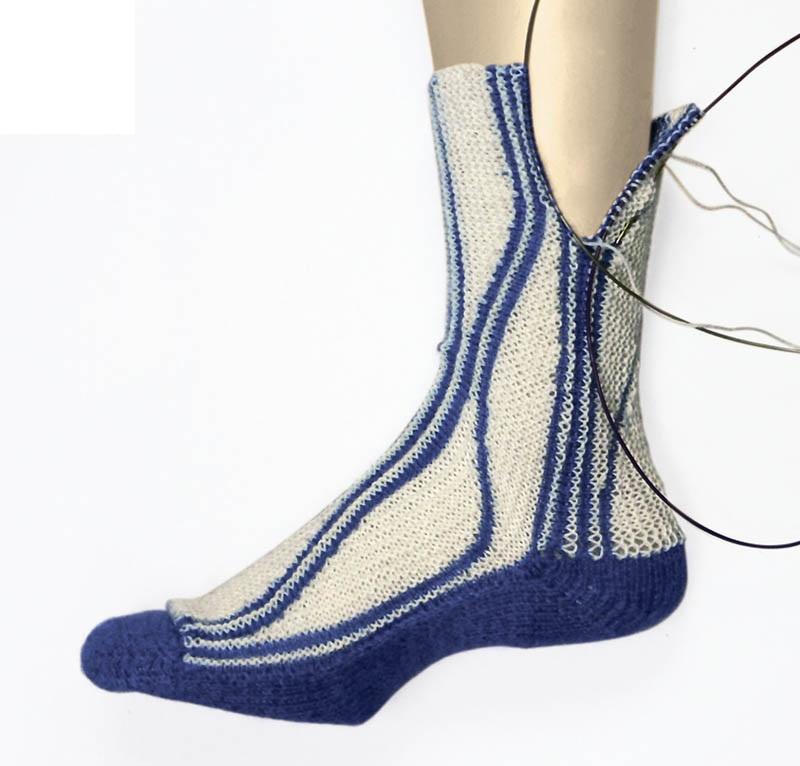Учебный курс по вязанию носков в технике свинг