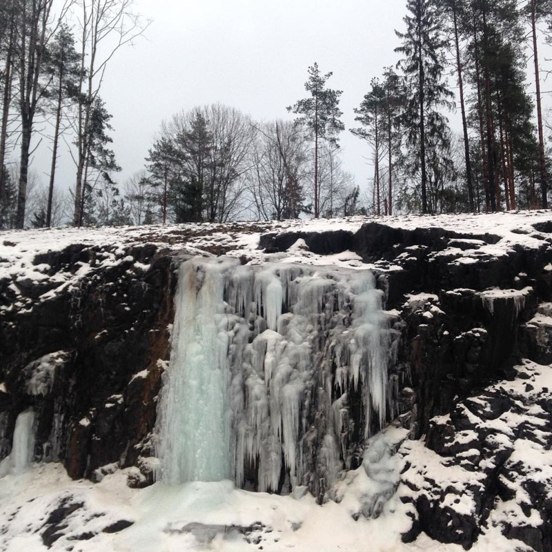 Карелия водопады, водопады России, водопады зимой, замёрзшие водопады, красивые водопады, природа России