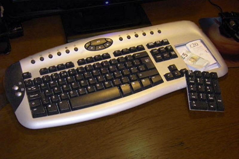 в клавиатуре