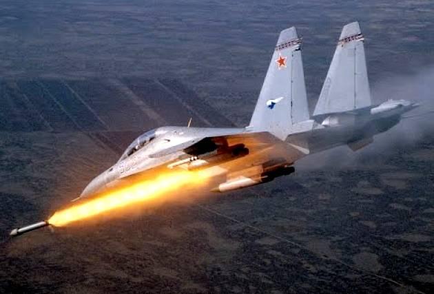 ВКС России продолжают «отжигать» в Сирии