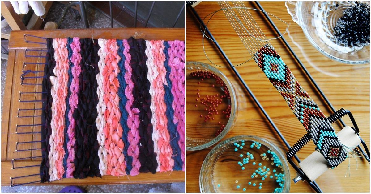 Необычные и простые в исполнении виды ткацкого станка. Некоторые варианты просто поражают воображение