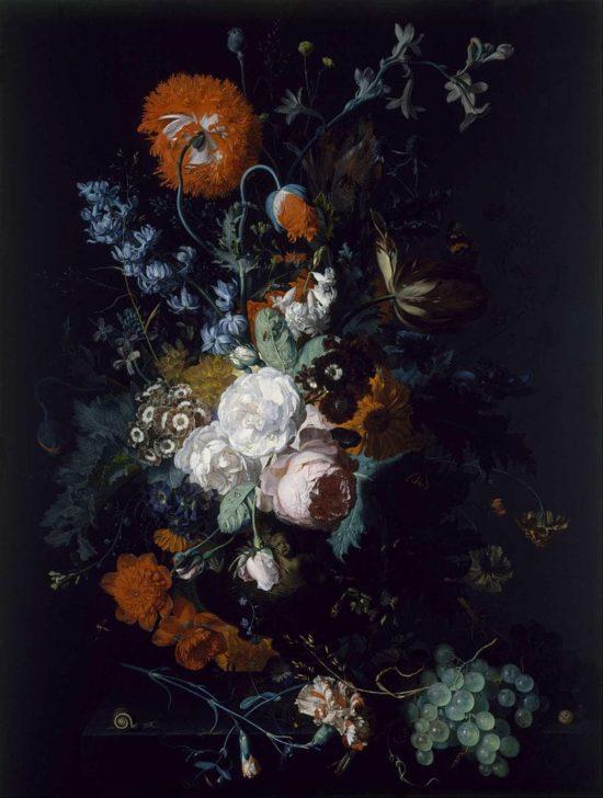 художник Ян ван Хёйсум (Jan Van Huysum) картины - 05